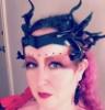 spiritchrysalis: Image of Rigel dressed as a demoness. Something wild, defiant, beautiful. (RigelDemon)