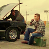 stellamira: (Supernatural - Sam working on Impala)