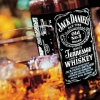sdk: picture of a bottle and glass of jack daniels whisky (gen - jack daniels)