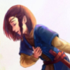 utulien_aure: child fingon bowing (bowing, play sword)