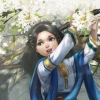 utulien_aure: young fingon with flowers (child, flowers)