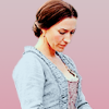 arcadiaego: Miranda from Black Sails, looking pensive. She wears a pastel blue dress. (Black Sails)