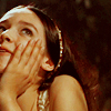 skazka: Olivia Hussey's Juliet looking dreamy (pining Juliet)
