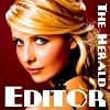 feliciacraft: felicia as editor of the Sunnydale Herald (herald editor)