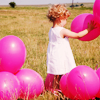 theapink: (stock: pink balloons (default))