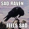 silkyraven: (Sad Raven)
