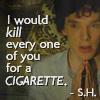 arianedevere: (Sherlock - Kill for a cigarette)