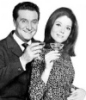usedtobeljs: (Steed and Emma with champagne)