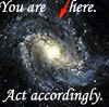flexagon: (you are here (galaxy))