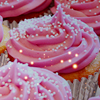 bluecastle: (pink cupcakes)