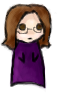 dizmo: A simplified blob-like illustration of me. (darkplace - hurts)
