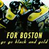 xdreamincolor: ([NHL] go go black & gold)
