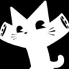 tenshikurai9: (black and white cat)