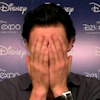 dizmo: (misc: the hiddles doublefacepalm)