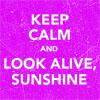stardustonsable: (Look alive, sunshine)