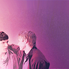 andiwould: (→ colin; posing; purplish)