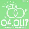 gonzostar: (wedding - happily married 4.1.17)