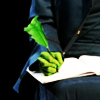 draconesse: (Elphaba's quill)