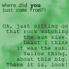 elsewhence: (oh look rocks)
