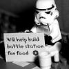 elsewhence: (unemployed LEGO stormtrooper)
