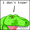 carolinecrane: (dinosaur: I know nothing)