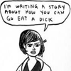 apiphile: (a story where you go eat a dick)