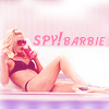 scornedsaint: (spy barbie)