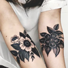full_moon: made by wilderness @ livejournal (stock : flower tat)