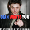 to_be_empty: (back of the impala)