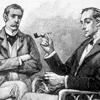 smallhobbit: (Holmes Watson pipes)