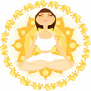supercheesegirl: (yoga - cute lotus sunburst)