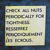 dyfferent: (bollocks, check, nuts, tightness)