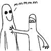 adamkenney: (White Ninja Touches Ghost)
