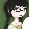 static_fingertips: (art-girl glasses)