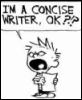kalibex: (concise writer)