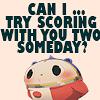 epiphanyinblue: (teddie can i score)