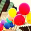mmmfelicious: (rainbow balloons)
