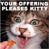ayanamisama: (Your Offering Pleases Kitty)