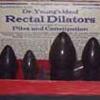 quba: (rectum, dr. young, rectal, finest, dialators)