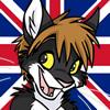 slycat: (Drawn by Muzz + UK Flag)