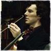 tiggymalvern: (Sherlock violin by littlemissstars)