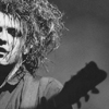 horizon_greene: Robert Smith singing (robert in shadow)