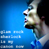 sunken_standard: (glam rock sherlock canon)