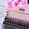 princessofburundi: (pink typewriter)