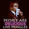 jypsie: (Like pringles)