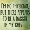 jypsie: (Dagger in chest)