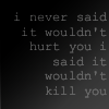 little_monk: i never said it wouldn't hurt you i said it wouldn't kill you (Eastertide)