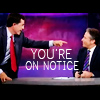 sardonicynic: the daily show | stephen colbert; jon stewart (NOTICE)