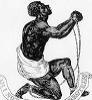 amaebi: Wedgewood anti-slavery plate (man and brother)