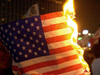 etherial: a burning flag (politics)